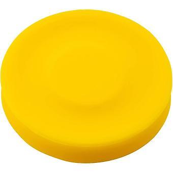 Chip Siliconen Flexibele Mini Flying Disc Frisbee (Gember)