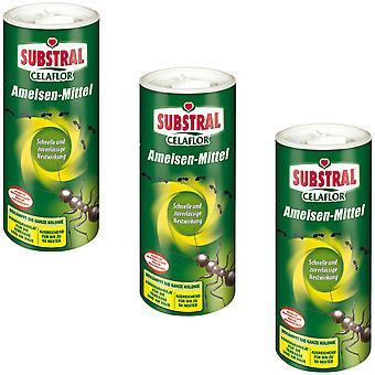 Sparset: 3 x SUBSTRAL® Celaflor® ants, 500 g