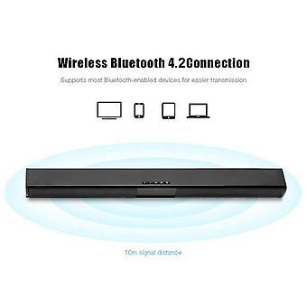 20w TV Sound Bar Verkabelt und wireless Bluetooth Home Surround für PC Theater TV