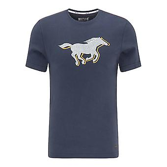 Mustang Shoes Aaron C Print 10095224085 universal all year men t-shirt