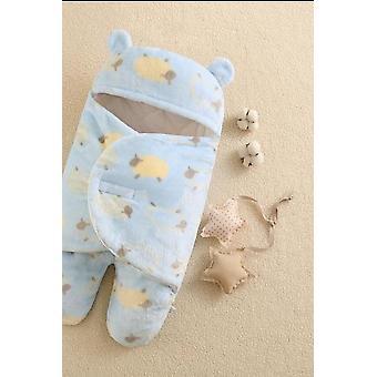 Pehmeä vastasyntynyt vauvan käärehuovat Vauvan makuupussi kirjekuori vastasyntyneelle