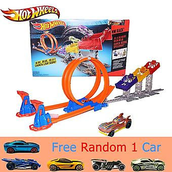 Track Limit Jump Classis Film Antieke Auto's Speelgoed