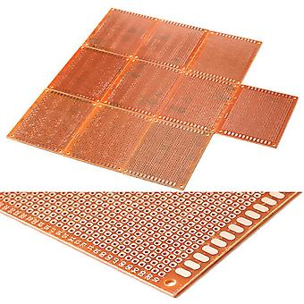 20pcs 7*5cm Solder Finished Prototype Pcb For Diy Circuit Board Breadboard