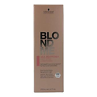 Balsam Blondme Keratin Gendan alle blondiner Schwarzkopf (200 ml)