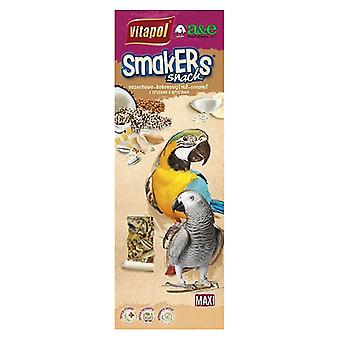 A&E Cage Company Smakers Parrot MAXI Nut/Coconut Treat Sticks - 2 count