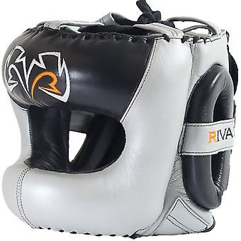 RIVAL Boxning RHGFS3 Guerrero Face-Saver Huvudbonader - Silver