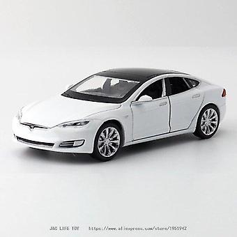 Nuovo 1:32 Tesla MODEL S Alloy Car Model Diecasts & Veicoli giocattolo Auto giocattolo Spedizione gratuita Giocattoli per bambini