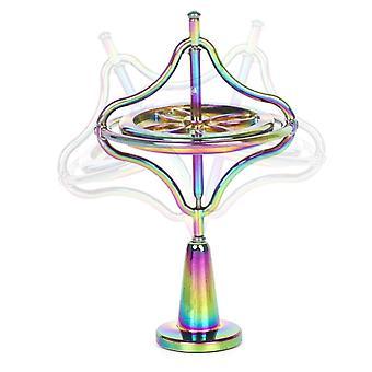 Zelfbalancerende Gyroscoop Anti Zwaartekracht Decompressie Educatieve Speelgoedvinger Grappig| Draaiende toppen