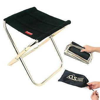 Chaises مصغرة في الهواء الطلق قابلة للطي كرسي شاطئ الصيد المحمولة البراز التخييم مقعد نزهة
