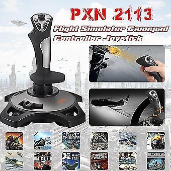 Pxn-2113 joystick de jeu simulateur de vol contrôleur de manette de jeu joystick d'arcade pour PC / bureau