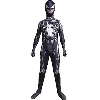 Kinder Jungen Venom Jumpsuit Cosplay Kostüm Kostüm Kostüm Outfit Halloween