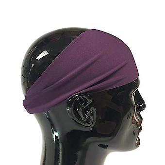 Tie Die Fast Dry Yoga Sports Headband Moisture Wicking Fitness Hair Band