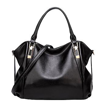 Pu läder axel handväska för kvinnor