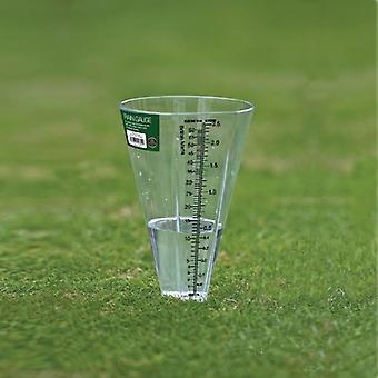 Chuva, pluviômetro jardim ao ar livre do tempo a unidade de medição