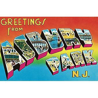 Bruce Springsteen - importar de USA saludos desde Asbury Park NJ [vinilo]