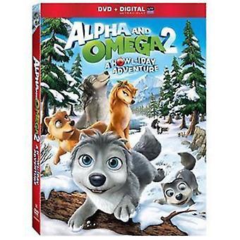 Alfa y Omega 2: Importación de Estados Unidos de un aullido Iday aventura [DVD]