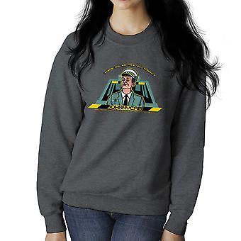 Johnny Cab Total Recall vrouwen Sweatshirt