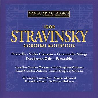I. Stravinsky - Stravinsky: Orchestral Masterpieces [CD] USA import