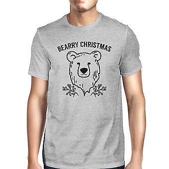 Sanchez Natal urso engraçado Mens gráfico t-shirt para presentes de Natal