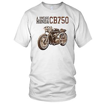 Vintage CB750 klassieke fiets Mens T Shirt
