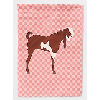 Carolines skatter BB7890GF Jamnapari geit rosa sjekk flagg hage størrelse
