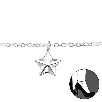 Star-925 Sterling Silver anklets-W31578X