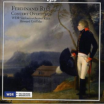 F. Ries - Ferdinand Ries: Concert Overtures [CD] USA import