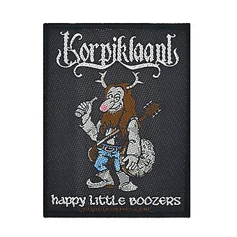 Korpiklaani Happy Little Boozer's Woven Patch
