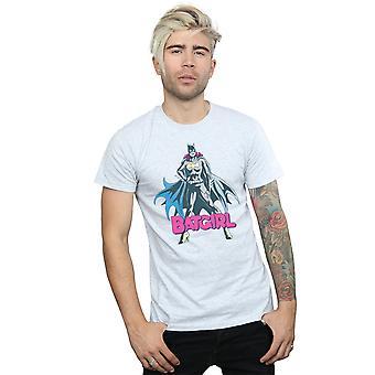 Batgirl de DC Comics los hombres posan camiseta
