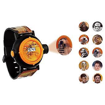Disney Star Wars BB8 digitalprojektor Wrist Watch SWM3116