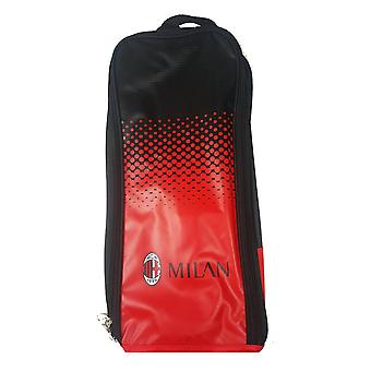 AC Milan Official Fade Football Crest Shoe/Boot Bag