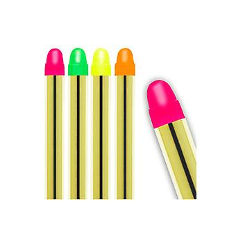 Make up e ciglia Set di 5 pastelli di vernice viso al neon