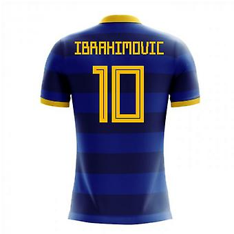 2020-2021 Sweden Airo Concept Away Shirt (Ibrahimovic 10) - Kids