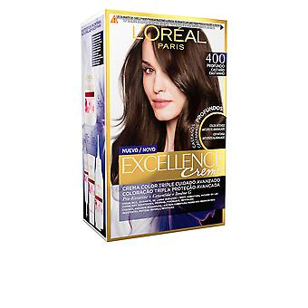 L'Oreal Make Up Excellence Brunette Tinte #400-true Brown For Women