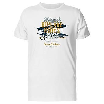 National Biplane Rides Tee Men's -Image by Shutterstock