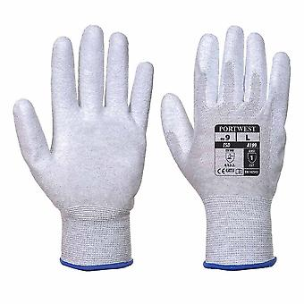 sUw - ESD Antistatic PU Palm Grip Glove (1 Pair Pack)