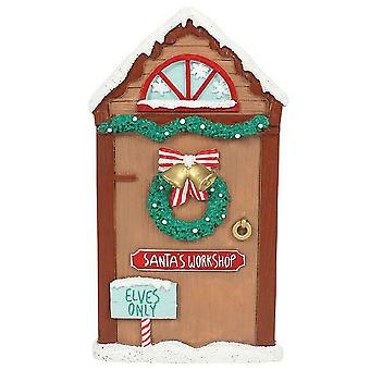 Something Different Santas Workshop Door