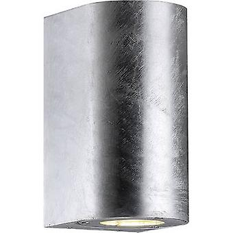 Nordlux Canto Maxi 77561031 Outdoor wall light HV halogen GU10 70 W Galvanized