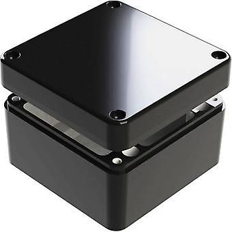 Deltron skap 487-121209B-68 Universal kabinett 125 x 125 x 90 Aluminium blå 1 eller flere PCer