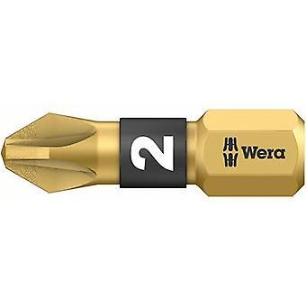Wera 855/1 BDC PZ 1 X 25 05 056700 001 פיליפס סיבית PZ 1 כלי פלדה DLC מצופה D 6.3 1 pc(s)