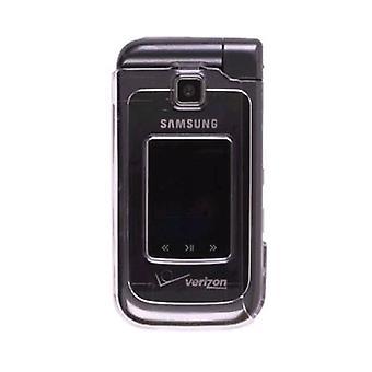 Samsung U750 Alias 2 Snap-On Case - Clear (emballage en vrac)
