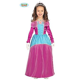 Guirca princess dress Princess costume for girl blue pink girls costume fairy tale Carnival