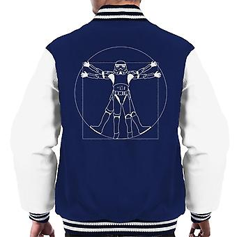 Original Stormtrooper Vitruvian Man Men's Varsity Jacket