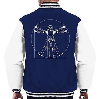 Originele Stormtrooper Vitruvian Man mannen Varsity Jacket