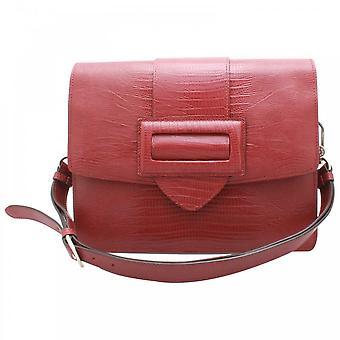 Abro Buckle Fastening Messenger Style Handbag