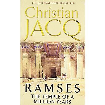 Der Tempel von 1 Million Jahren von Christian Jacq - 9780671010218 Buch