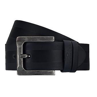 Pantalones vaqueros cinturones de TOM TAILOR correa de cuero cinturones de los hombres de la correa azul 7756