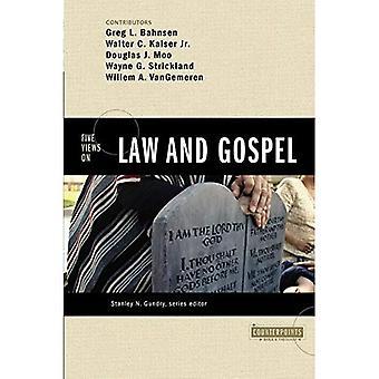 Cinco pontos de vista sobre lei e Evangelho (contrapontos: explorando teologia) (contrapontos: explorando a teologia)