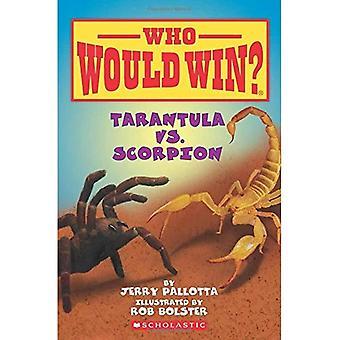 Tarentule vs Scorpion (qui va gagner?)