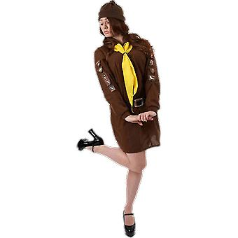 Costumes d'Orion Womens Brownie Girl Scout Guide costume Déguisements uniformes